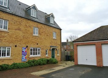 Thumbnail 4 bedroom end terrace house for sale in Deer Valley Road, Peterborough, Cambridgeshire