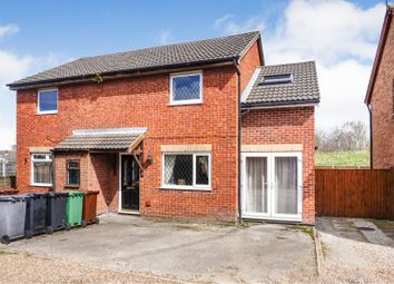Thumbnail 3 bed semi-detached house for sale in Hopes Farm Road, Leeds