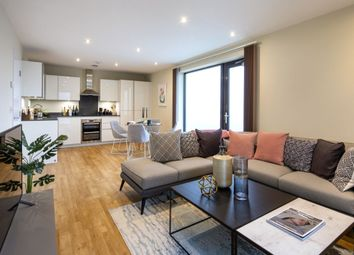 Thumbnail 3 bed flat to rent in Modin Place, Uxbridge