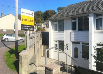 Thumbnail End terrace house for sale in Queensway, Torquay