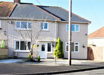 Thumbnail 4 bed semi-detached house for sale in Rufus Lewis Avenue, Gorseinon
