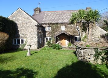 Thumbnail 4 bed detached house for sale in Old West Farmhouse, West Road, Nottage Village, Porthcawl