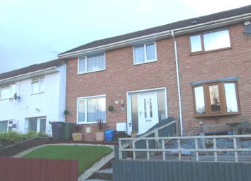 Thumbnail 3 bed terraced house for sale in Churchwood Road, Pontnewydd, Cwmbran