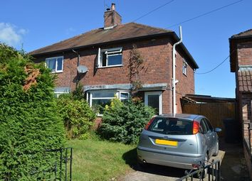Thumbnail 3 bed semi-detached house for sale in Brookfields, Market Drayton