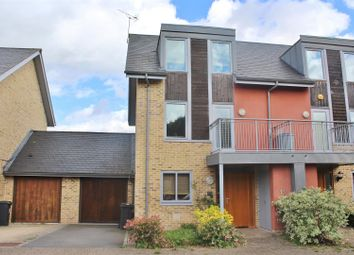 Thumbnail 4 bedroom town house for sale in Pumphouse Way, Basingstoke