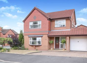 Thumbnail 4 bed detached house for sale in Bridgewater Drive, Wombourne, Wolverhampton