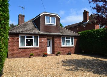Thumbnail 4 bed detached bungalow for sale in Burney Bit, Pamber Heath, Tadley