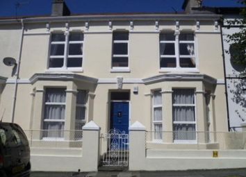 Thumbnail 6 bed terraced house to rent in Belgrave Road, Mutley, Plymouth