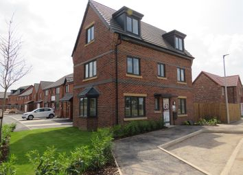 Thumbnail 4 bed detached house for sale in Woodford Grange, Woodford Lane West, Winsford