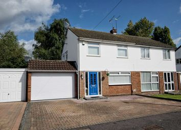 Thumbnail 3 bed semi-detached house for sale in Shalcross Drive, Cheshunt, Hertfordshire