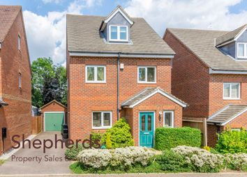 Thumbnail 4 bed detached house for sale in Kennedy Avenue, Hoddesdon, Hertfordshire