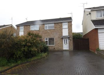 Thumbnail 3 bed semi-detached house to rent in Fairmead Crescent, Rushden