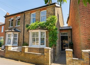 Thumbnail 3 bed semi-detached house for sale in Back Green, Burwood Park, Hersham, Walton-On-Thames