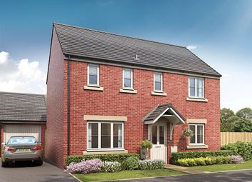 "Thumbnail 3 bed detached house for sale in ""The Clayton"" at Church Road, Old St. Mellons, Cardiff"