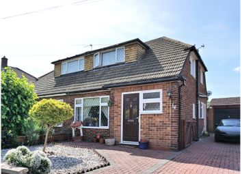 Thumbnail 3 bed semi-detached house for sale in Lindsay Close, Staines-Upon-Thames