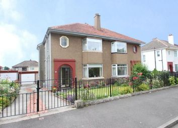 Thumbnail 3 bed semi-detached house for sale in Rowandale Avenue, Garrowhill, Glasgow, Lanarkshire