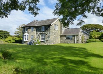 Thumbnail 4 bed detached house for sale in Clynnog Road, Pontllyfni, Caernarfon