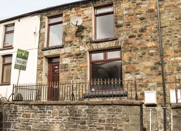 Thumbnail 2 bed terraced house to rent in Ystrad Road, Pentre