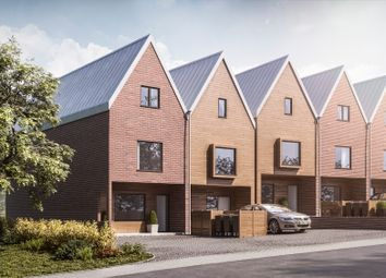 Thumbnail 4 bed town house for sale in Barons Hall Lane, Fakenham