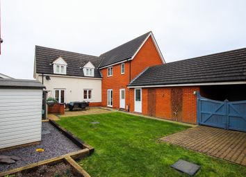 Thumbnail 4 bed detached house for sale in Windsor Park Gardens, Sprowston, Norwich