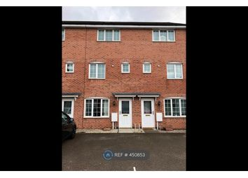 Thumbnail 3 bed terraced house to rent in Barker Round Way, Burton-On-Trent