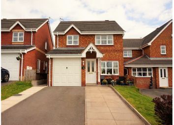 Thumbnail 3 bed detached house for sale in Row Moor Way, Stoke-On-Trent