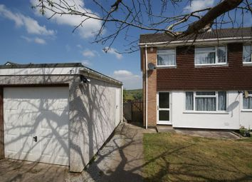Thumbnail 3 bed semi-detached house for sale in Elizabeth Close, Bodmin