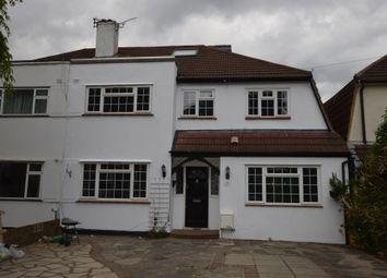 Thumbnail 4 bedroom semi-detached house to rent in Grafton Road, Worcester Park