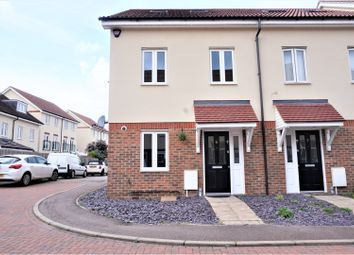 Thumbnail 4 bed semi-detached house for sale in Cedrus Close, Broxbourne