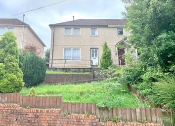 Thumbnail 3 bed semi-detached house for sale in Garth Avenue, Glyncoch, Pontypridd