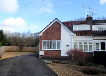 Thumbnail 4 bed semi-detached house for sale in Trefynant Park, Acrefair, Wrexham