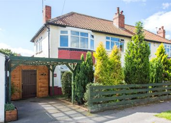 Thumbnail 3 bed semi-detached house to rent in Nunroyd Avenue, Leeds, West Yorkshire