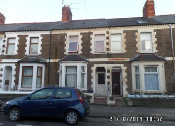 Thumbnail 5 bedroom terraced house for sale in Diana Street, Roath, Cardiff