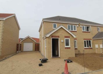 Thumbnail 3 bedroom semi-detached house for sale in Kings Drive, Bradwell, Great Yarmouth