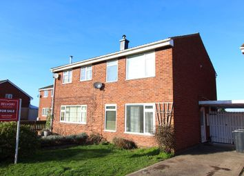 Thumbnail 3 bed semi-detached house to rent in Barneby Avenue, Bartestree, Hereford
