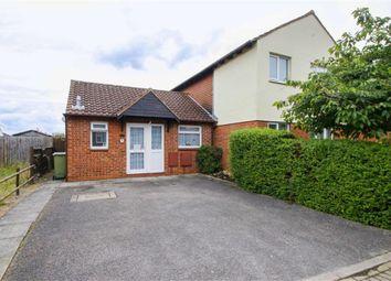 Thumbnail 1 bedroom semi-detached bungalow for sale in Simonsbath, Furzton, Milton Keynes, Bucks
