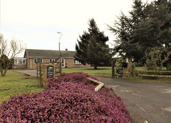 Thumbnail 4 bed detached bungalow for sale in Little Dog Drove, Holbeach St. Johns, Holbeach, Spalding