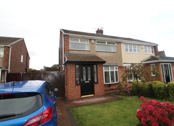 Thumbnail 3 bed semi-detached house for sale in Commondale Drive, Seaton Carew, Hartlepool