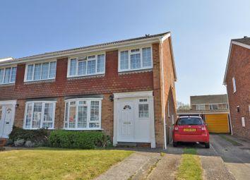 Goodwin Close, Hailsham BN27. 3 bed semi-detached house for sale
