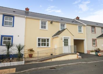 Thumbnail 3 bed terraced house for sale in Hall Court, Haverfordwest, Dyfed