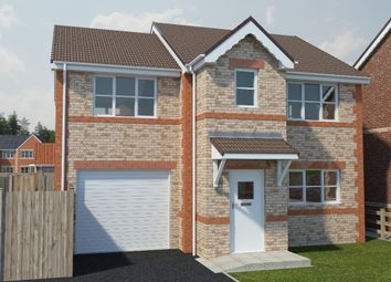 Thumbnail 4 bed detached house for sale in Draycott Road, North Wingfield, Chesterfield