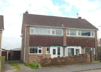 Thumbnail 3 bedroom semi-detached house for sale in Mount Crescent, Morriston, Swansea