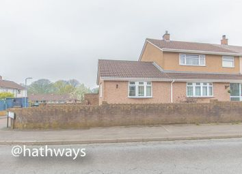 Thumbnail 3 bedroom end terrace house for sale in Liswerry Drive, Llanyravon, Cwmbran