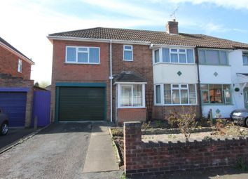 Thumbnail 3 bed semi-detached house for sale in Sandringham Avenue, Earl Shilton, Leicester