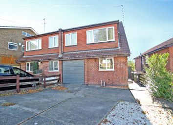 Thumbnail 3 bed semi-detached house for sale in Gregory Avenue, Mapperley, Nottingham