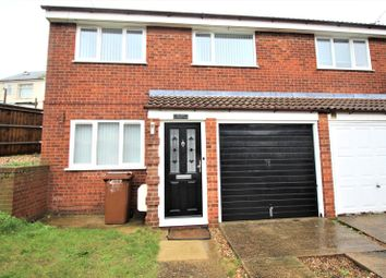 Thumbnail 3 bed end terrace house to rent in Grange Road, Gillingham, Kent
