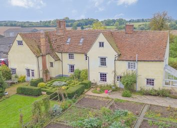 Thumbnail 7 bed farmhouse for sale in Hedingham Road, Bulmer, Sudbury