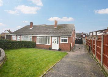Thumbnail 2 bed semi-detached bungalow for sale in Heaward Close, Shavington, Crewe