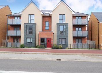 Thumbnail 2 bed flat for sale in Countess Way, Brooklands, Milton Keynes