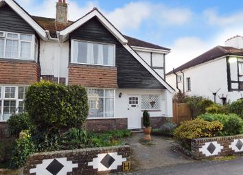 Thumbnail 3 bed semi-detached house for sale in Westland Avenue, Worthing